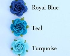 Flower embellishments mint green roses decorations for Red Rose Flower, Little Flowers, Green Rose, Mint Green, Real Blue Roses, Red Roses, Blue Shades Colors, Blue Rose Tattoos, Wedding Bubbles