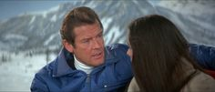 "Roger Moore in ""For Your Eyes Only"""