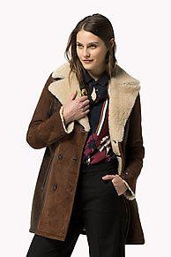 Shop de lammy jas en verken de Tommy Hilfiger leren jacks  collectie voor dames. Gratis retourneren & verzending vanaf €50. 8719112621417