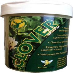 Tecomate 1 lb. Clover Pounder Professional Wildlife Seed-25003 - The Home Depot