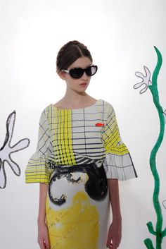 Tsumori Chisato Resort 2014 [Courtesy Photo]