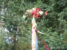 Cherished Hearts At Home: Making a Maypole and how we celebrate...tutorial