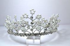 Glamorous Rhinestone and Pearl Bridal by RomanceInSilverBride, $100.00