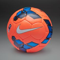 Nike Footballs - Nike Incyte FA Cup - Football Balls - Orange-Blue- size 5 please