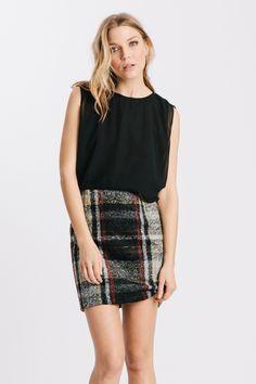 Plaid Izzy Dress by Karen Zambos