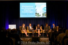 Jacqueline Lisk moderating at the 2014 Westchester Digital Summit
