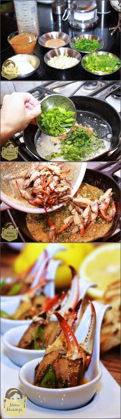Louisiana Crab Claws Bordelaise - if you only knew how ridiculously simple and fast this appetizer is to make.. you would rush out and make some NOW! The entire dish is done in about 15 minutes! Not familiar with a Bordelaise? Well, think of an awesome scampi recipe and jack that up a few notches!! Step-by-step photos!