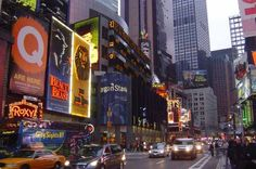 Broadway, New York City. This street in America is the start of many famous Actors/Actresses careers. I would love to watch a show and be able to say I saw a show on broadway.