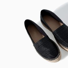 Image 4 of RAFFIA ESPADRILLE from Zara
