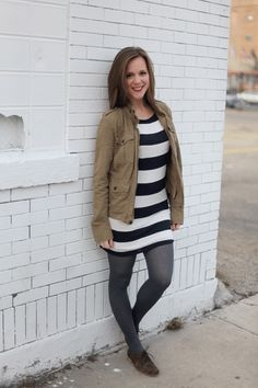 Brown Eyed Style: Outfit: Stripes For All