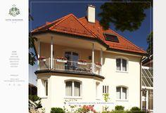 HOTEL BURGMEIER by INTERNETKULTUR // www.hotel-burgmeier.de Mansions, House Styles, Design, Home Decor, Mansion Houses, Homemade Home Decor, Villas, Fancy Houses