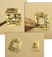 mini picture frame...maybe make light switchs and more ideas