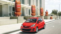 The 2013 Toyota Yaris is an affordable small car that comes in either two door or four door hatchback style. The car offers a roomy cabin wi...