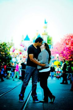 Engagement pictures at Disneyland!
