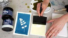 Cyanotype workshop! Beautiful floral blue prints.