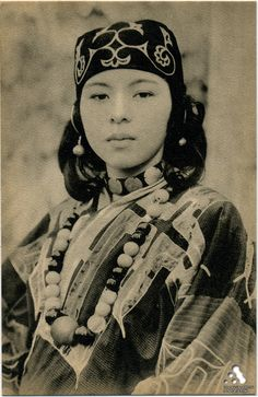 Ainu, early 20th century, Hokkaido, Japan