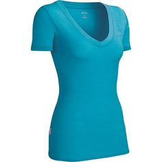 Icebreaker SF150 Tech Shirt - Merino Wool, V-Neck, Short Sleeve