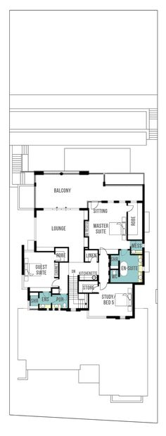 Reef undercroft, canal home design plans (first floor | U.S. 2nd floor) by Boyd Design Perth