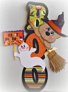 paper piecing halloween | ... SCRAPPINWMN-PREMADE-SCRAPBOOK-PAGE-HALLOWEEN-BEAR-BORDER-PAPER-PIECING