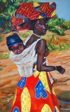View Delightful African woman by Alena Shymchonak. Browse more art for sale at great prices. New art added daily. Buy original art direct from international artists. Shop now