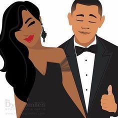 Mr. & Mrs. Obama <3