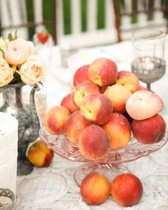 "See the ""Arrange Fruit-Filled Centerpieces"" in our 55 Ways to Trim Your Wedding Budget gallery"