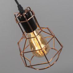 Lámpara colgante FRAME E rosa #interiorismo #decoracion #luz