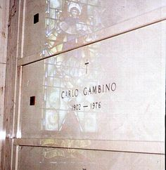 Carlo Gambino (1902 - 1976) Mafia boss, capo of the Gambino crime family headquartered in New York City
