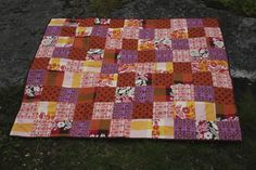 Happy Colored Quilt