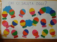 Tanti palloncini per salutare il nuovo giorno e rendere i bambini partecipe di uno dei momenti che scandiscono la giornata scolastica. Ogni mattina i piccoli alzano il cappellino al proprio pallonc…