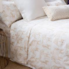 ELEPHANT-PRINT PERCALE BEDDING - Bedding - Bedroom | Zara Home Canada