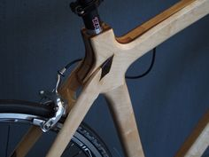 Superlite roadbike – hand made wooden Bikes. Wooden Bicycle, Wood Bike, Bike Frame, Custom Bikes, Wooden Frames, Digital Camera, Olympus, Bicycling, Fitness Bike