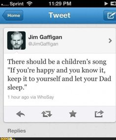 Jim Gaffigan has 5 kids, he knows a little bit about parenting...