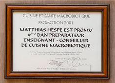 """En Matthias té un diploma certificat per """"Cuisine et Santé"""". Mira la filosofia i veu el que ens importa"""