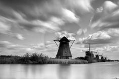 Kinderdijk Netherlands by Kees Smans