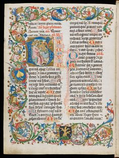 A lavishly illustrated Franciscan breviary. The historiated initial shows David with his harp.  Swiss.