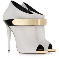 i37116 001 - Bootie Women - Shoes Women on Giuseppe Zanotti Design Online Store France found on Polyvore #giuseppezanottiheelswedding