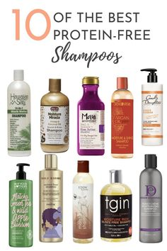 The Top 10 Protein-free Shampoos For Relaxed Hair