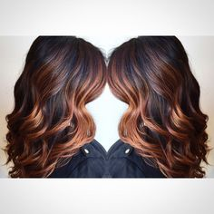 1000  Ideas About Copper Ombre On Pinterest Red Brown Hair Color - 736x736 - jpeg