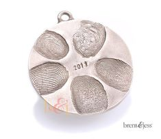 Bronze Ornament Custom Family Disc with up to 5 by fabuluster