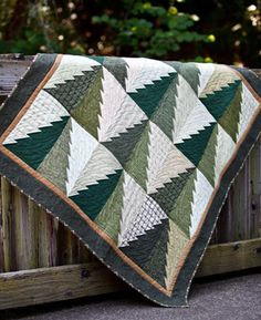Like this Tree Quilt a lot! Pattern:  Into The Woods by Connie Ewbank (used in our Timberline Flannel Quilt