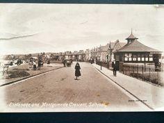 Esplanade and Montgomery Terrace Saltcoats circa1890-1910 Old Photographs, Old Photos, Vintage Photos, West Coast Scotland, Terrace, Nostalgia, Memories, Photo And Video, Travel
