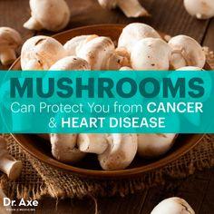 Mushroom nutrition benefits http://www.draxe.com #health #holistic #natural