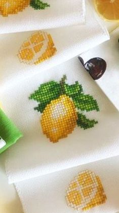1 million Stunning Free Images to Use Anywhere Cross Stitch Fruit, Cross Stitch Kitchen, Simple Cross Stitch, Cross Stitch Rose, Cross Stitch Flowers, Cross Stitch Embroidery, Cross Stitch Designs, Cross Stitch Patterns, Hand Embroidery Videos