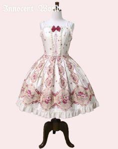 Innocent World ピュアローズシフォンフリルジャンパースカート