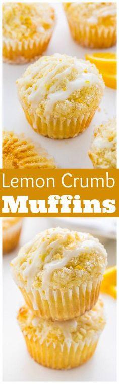 Lemon Crumb Muffins | Baker By Nature | Bloglovin'