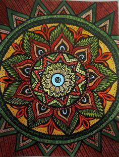 Mandala tattoo hunting.