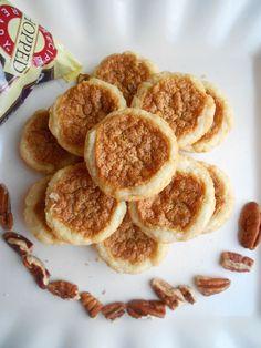 Mini Pecan Tarts - Culinary Couture