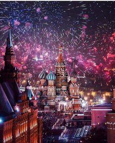 2016-й ушёл красиво!Москва.