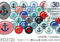 Vorlagen+Cabochons+++Buttons+ANKER+von+Planet+Mallika+auf+DaWanda.com